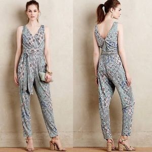 Anthropologie Elevenses Antilles jumpsuit